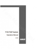 Case IH 7110 and 7120 Tractor Manual
