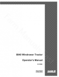 Case IH 8840 Tractor Manual