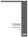 International 624, 724 and 824 Tractor Manual