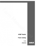 International 4156 Tractor - Parts Catalog