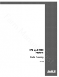 International 574 and 2500 Tractor - Parts Catalog