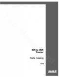 International 606 and 2606 Tractor - Parts Catalog