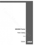 International 826 and 2826 Tractor - Parts Catalog