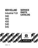 Ford 340A, 340B, 445A, 450, 540 and 545 Tractor - Parts Catalog