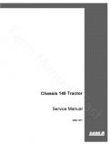 International 100, 140, F-100 and F100 Tractor - Service Manual