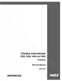 International 3088, 3288, 3488 and 3688 Tractor - Service Manual
