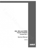 International 354, 364 and 2300A Tractor - Service Manual