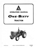 Allis-Chalmers 160 Tractor Manual