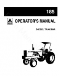 Allis-Chalmers 185 Tractor Manual