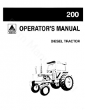 Allis-Chalmers 200 Tractor Manual