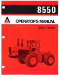 Allis-Chalmers 8550 Tractor Manual