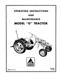 Allis-Chalmers G Tractor Manual