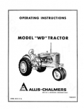 Allis-Chalmers WD Tractor Manual