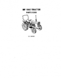 Massey Ferguson 1040 Tractor - Parts Catalog