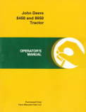 John Deere 8450 and 8650 Tractor Manual