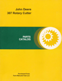 John Deere 307 Rotary Cutter - Parts Catalog