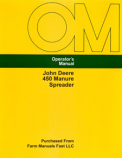 John Deere 450 Manure Spreader Manual