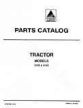 Deutz Allis 9130 and 9150 Tractor - Parts Catalog