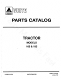White 160 and 185 Tractor - Parts Catalog