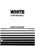 White 4-150 Tractor - Parts Catalog