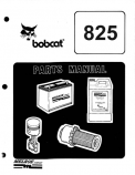 Bobcat 825 Skid Steer Loader - Parts Catalog