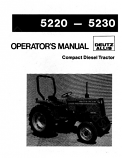 Deutz Allis 5220 and 5230 Tractor Manual