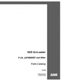 Case 1825 Skid-Steer - Parts Catalog