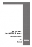 Case 2470 Tractor Manual