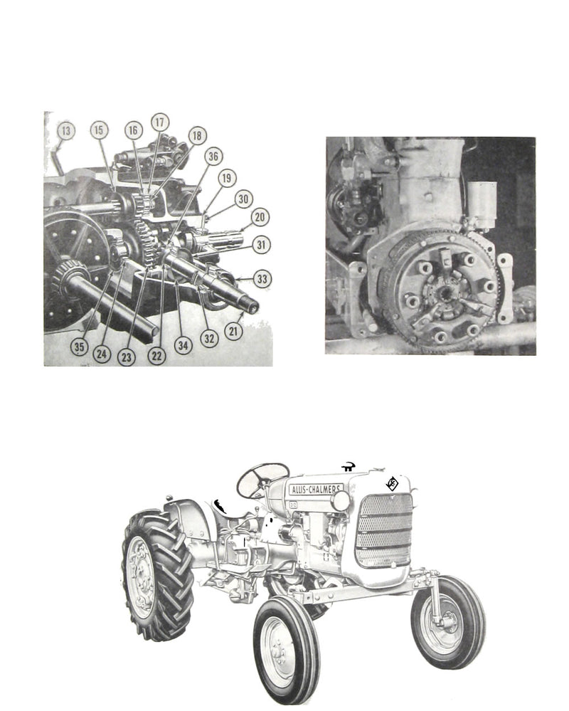 Allis-Chalmers D-10 and D-12 Tractor - Service Manual