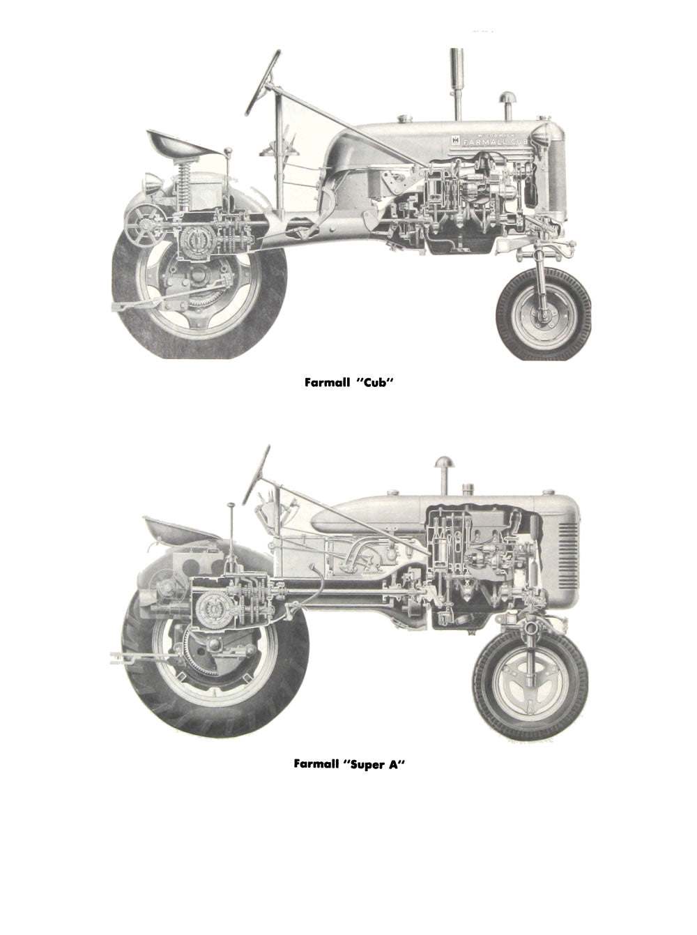International Harvester Tractor Super And Non Models A B C Farmall Engine Diagrams Additional Pictures Of The