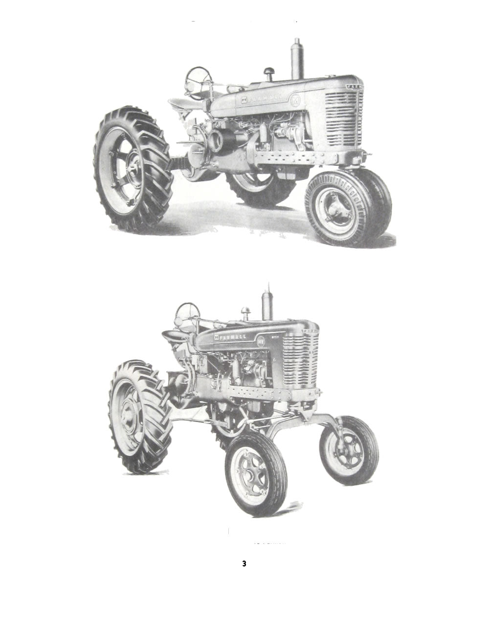 Additional pictures of the Farmall Model M and MV Tractor Manual.