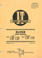 Oliver 1800A, 1800B, 1800C, 1850, 1900A, 1900B, 1900C, and 1950 Tractor - Service Manual