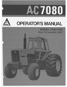 Allis-Chalmers 7080 Tractor Manual