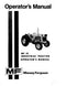 Massey Ferguson 31 Industrial Tractor Manual