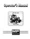 Massey Ferguson 670 and 690 Tractor Manual