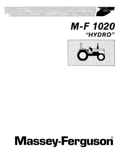 Massey Ferguson 1020 Tractor Manual