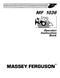 Massey Ferguson 1036 Loader Manual