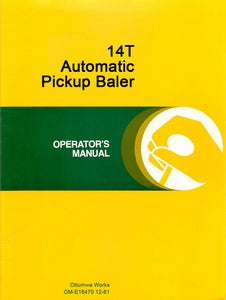 John Deere 14T Baler Manual | Farm Manuals Fast