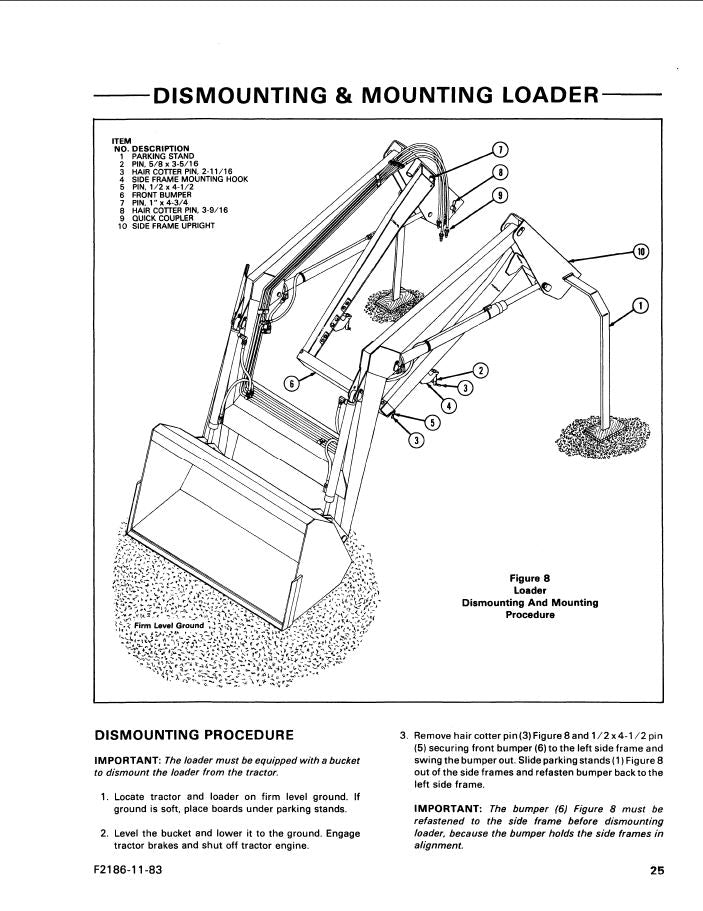 Ford 770B Quick Attach Loader Manual