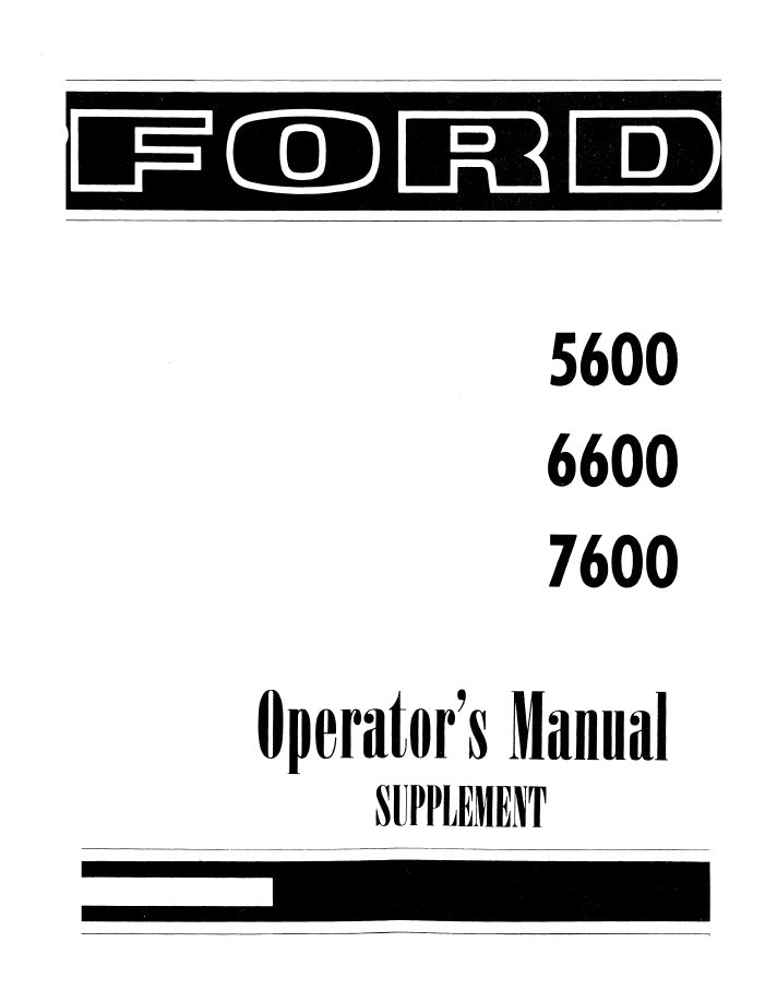 ford 5600 6600 and 7600 tractors manual farm manuals fast rh farmmanualsfast com Ford 6600 with Loader Ford 6600 with Loader