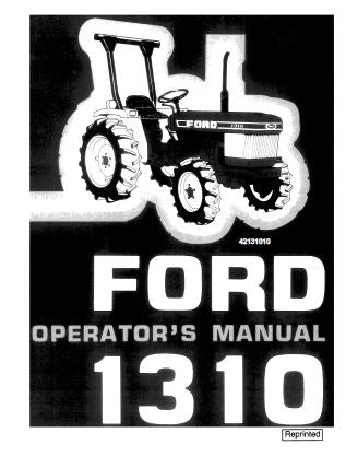 Ford 1310 Tractor Manual