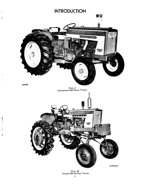 Wiring Diagram For Farmall 504 Tractor   Wiring Diagram on