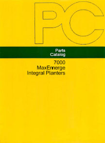 John Deere 7000 4RN, 4RW, 6RN Planter - Parts Catalog