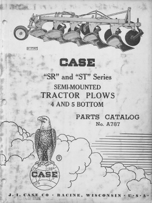 Case SR and ST Plows - Parts Catalog