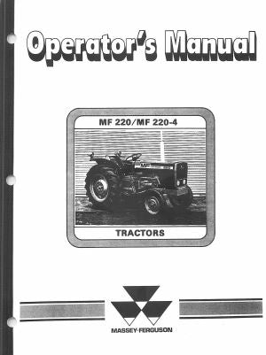 Massey Ferguson 220 and 220-4 Tractor Manual