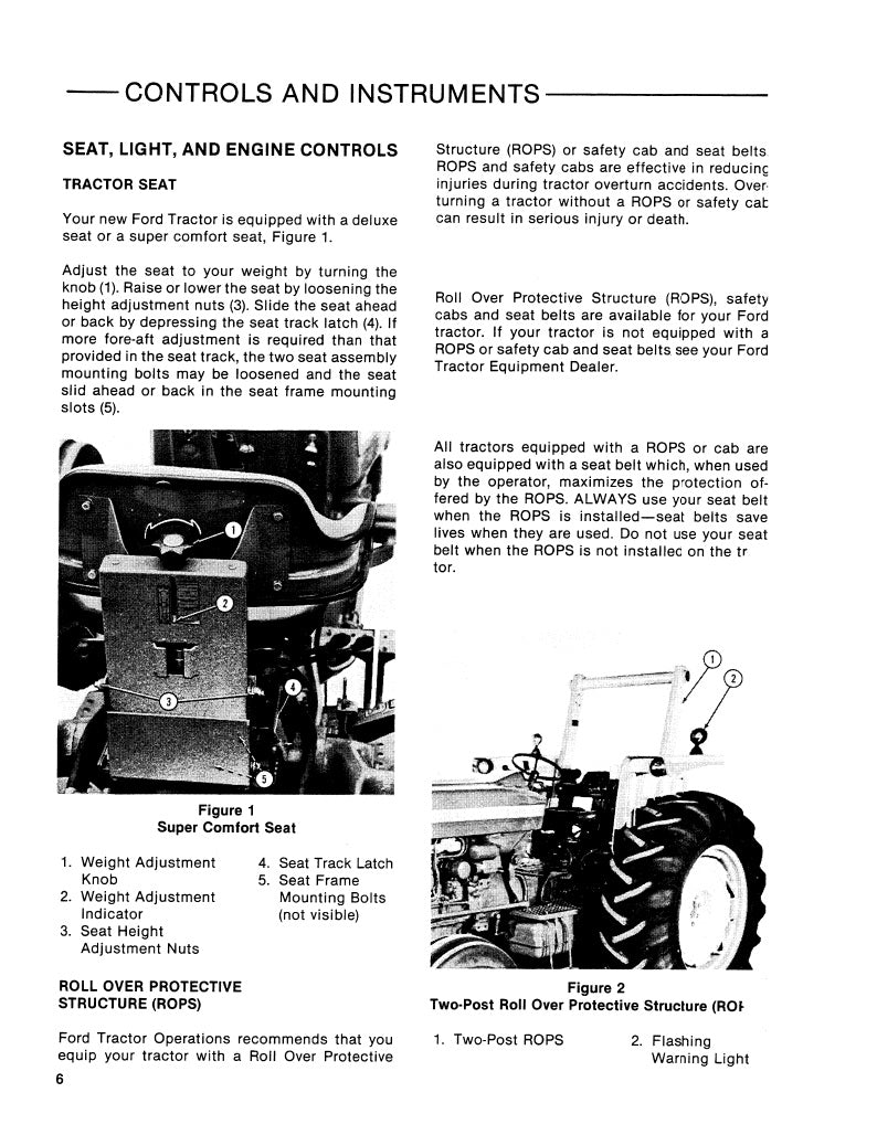 Ford 6610 Tractor Manual 2810 Alternator Wiring Diagram 5610 7610 Ii And 7810 Includes S Models Tractors Rh Farmmanualsfast Com Service Download