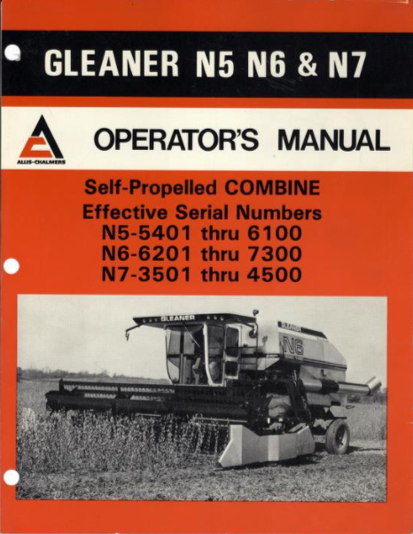 Gleaner n5 n6 and n7 combine manual farm manuals fast gleaner n5 n6 and n7 combine manual publicscrutiny Images