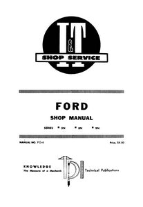 Fo4 Ford 8n Manual User Guide That Easy To Read 1949 Tractor 2n Wiring Diagram And 9n Series Shop Service Farm Manuals Fast Rh Farmmanualsfast Com 1948 1952