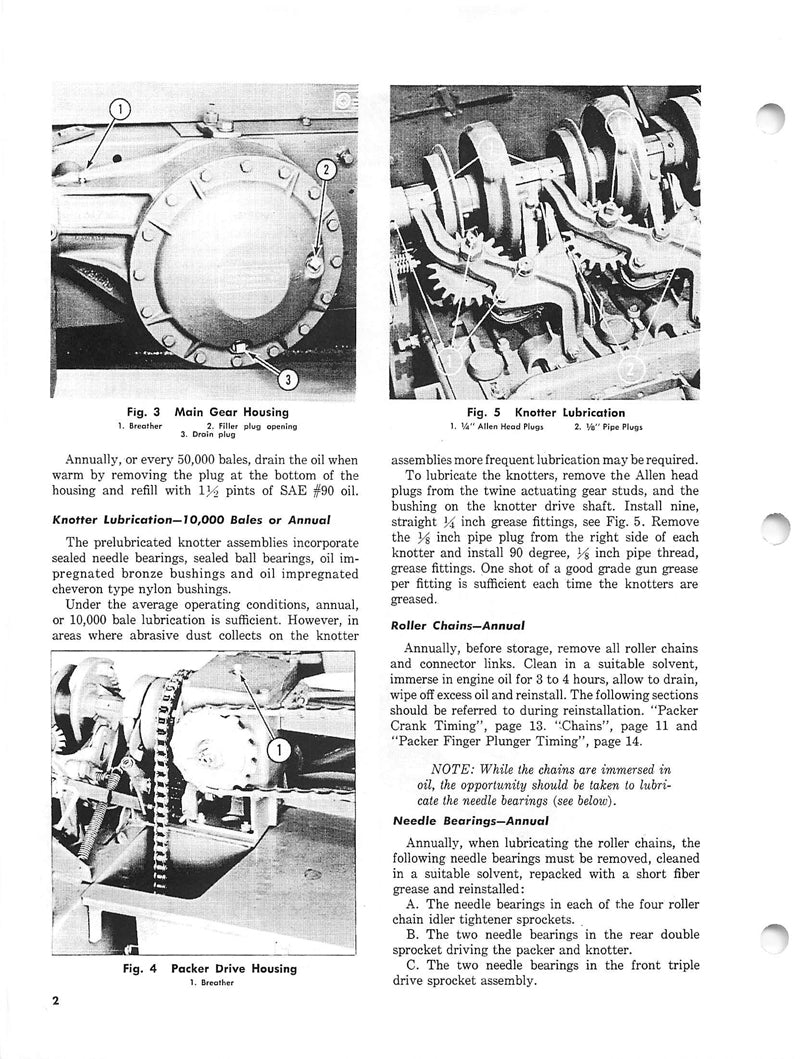 Additional pictures of the Massey Ferguson 3 Baler Manual.