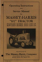 Massey-Harris 102 Tractor Manual